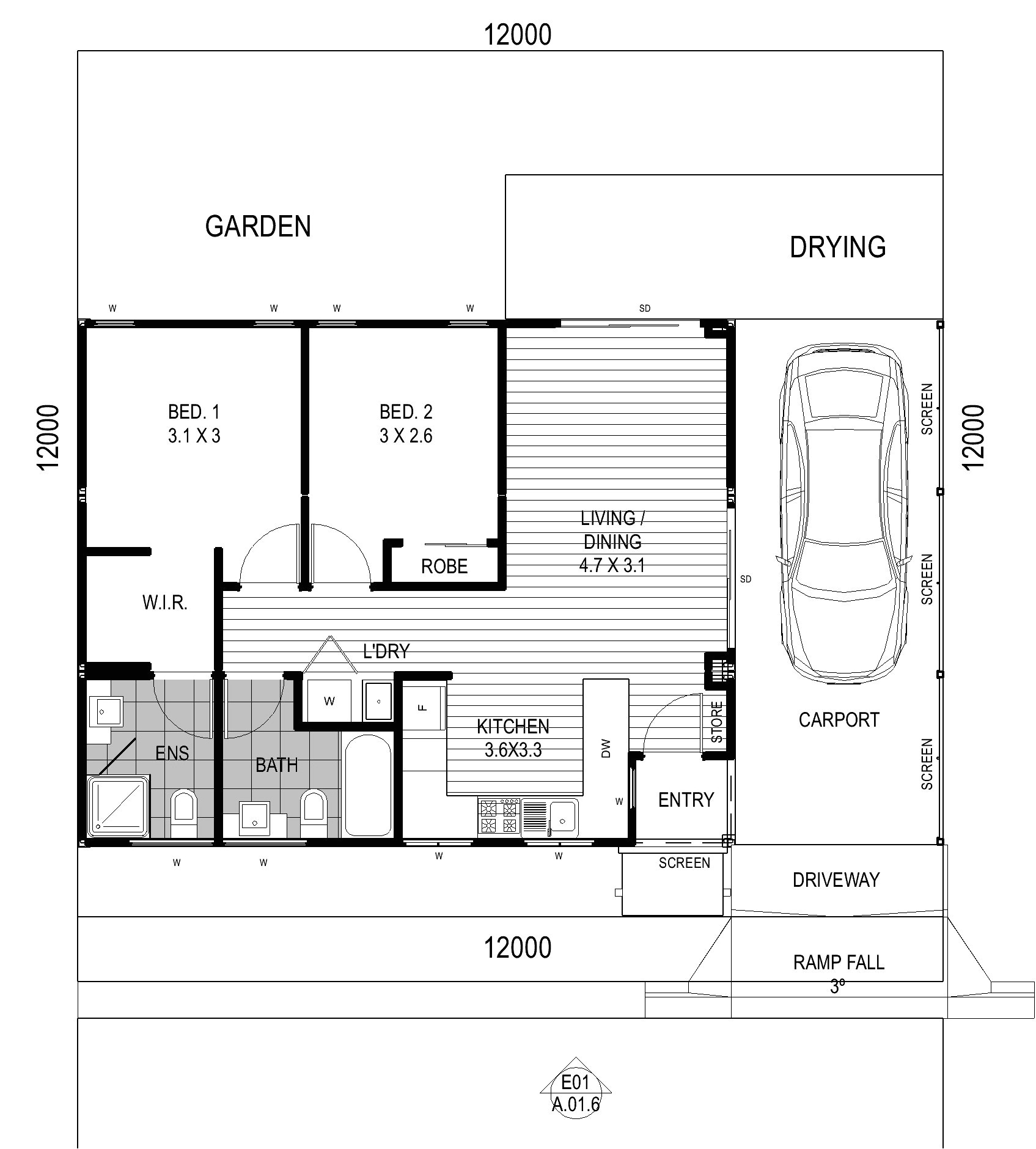 One Story Retirement House Plans House Plans for Retirement