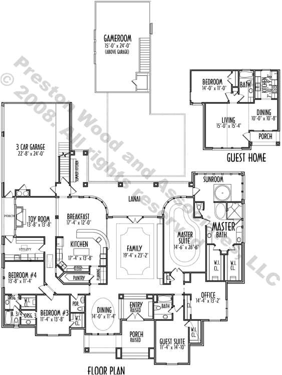 one story retirement house plans