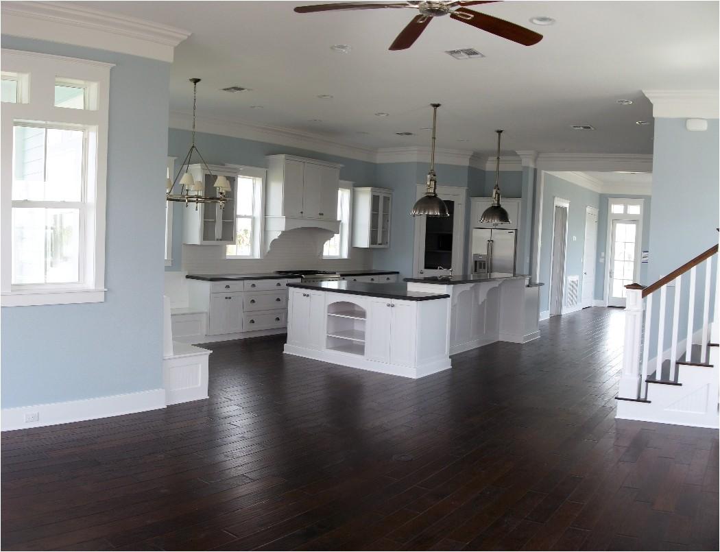 large open floor plans