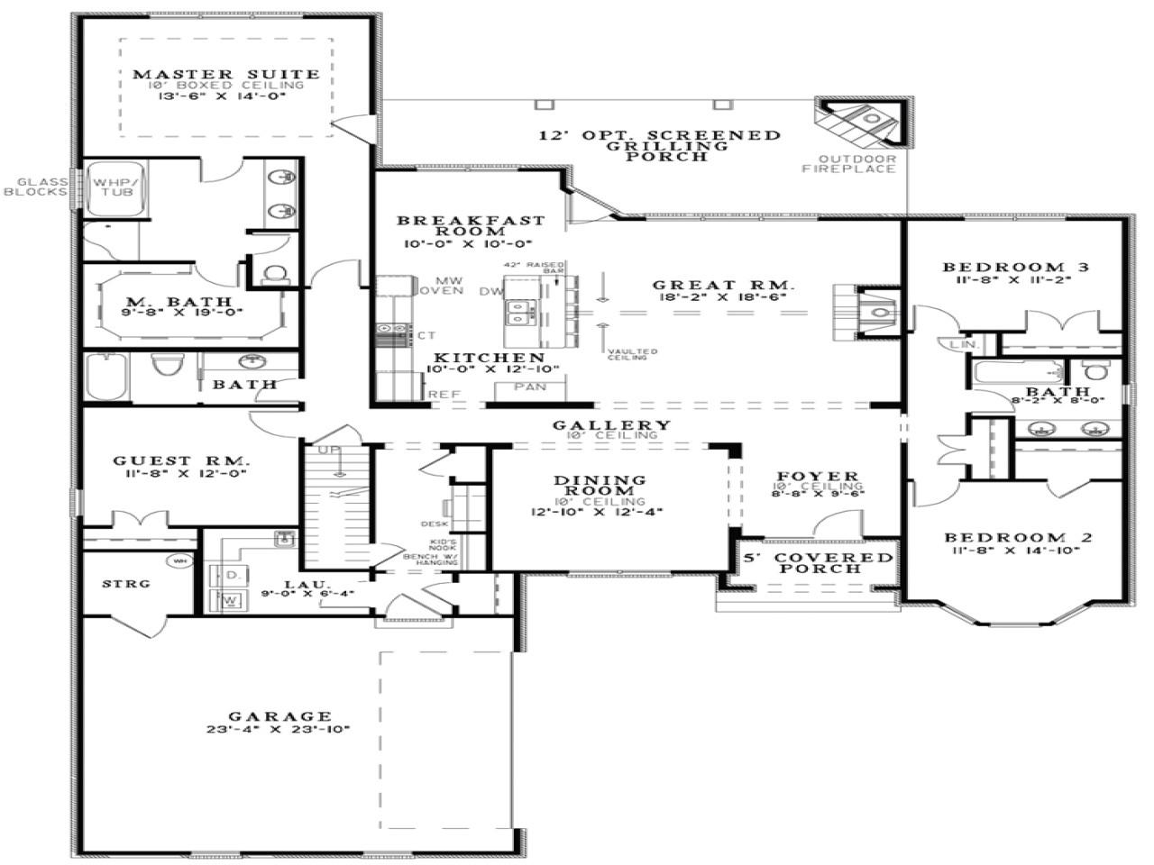 a13397be694d608f open floor plan house designs small open floor plans