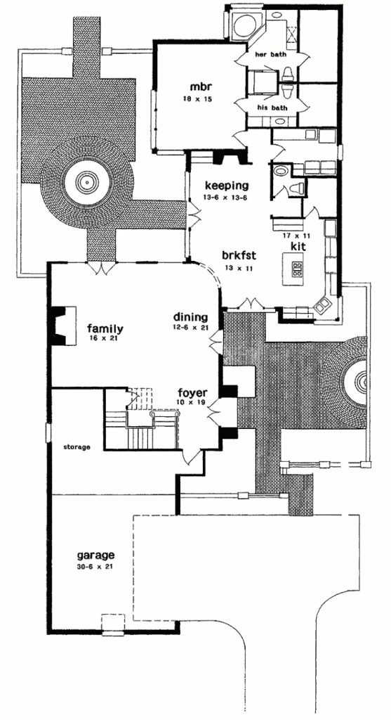 Orleans Home Builders Floor Plans New orleans House Plans Courtyard Arts In Best Of New