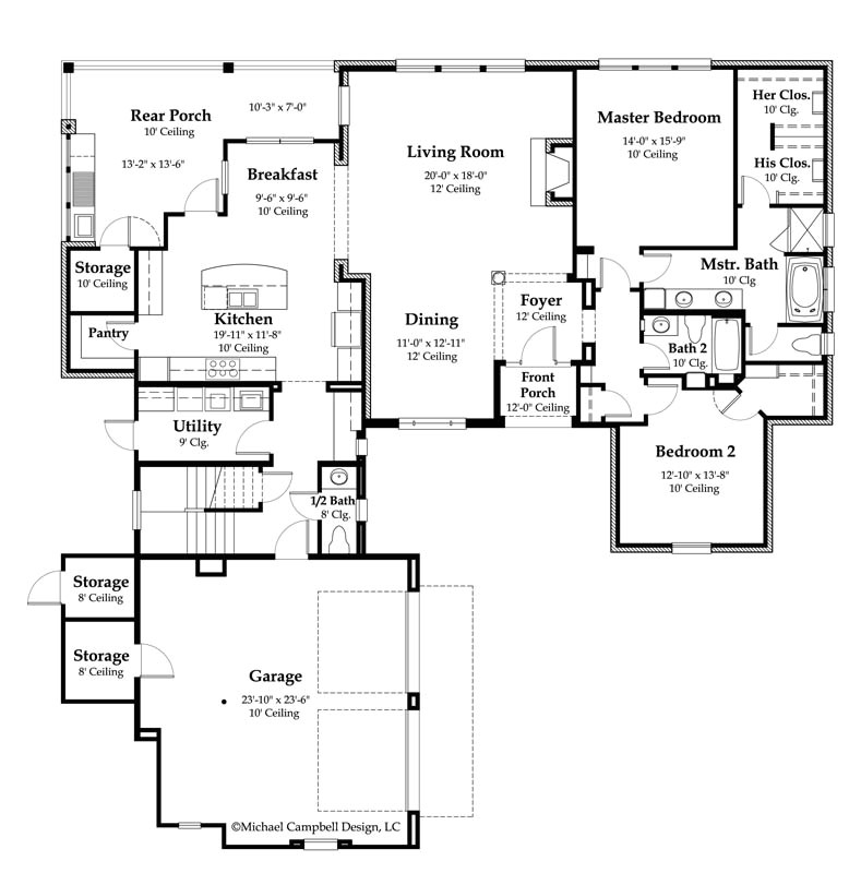 new orleans style row house plans