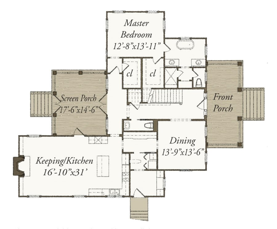 our town house plans