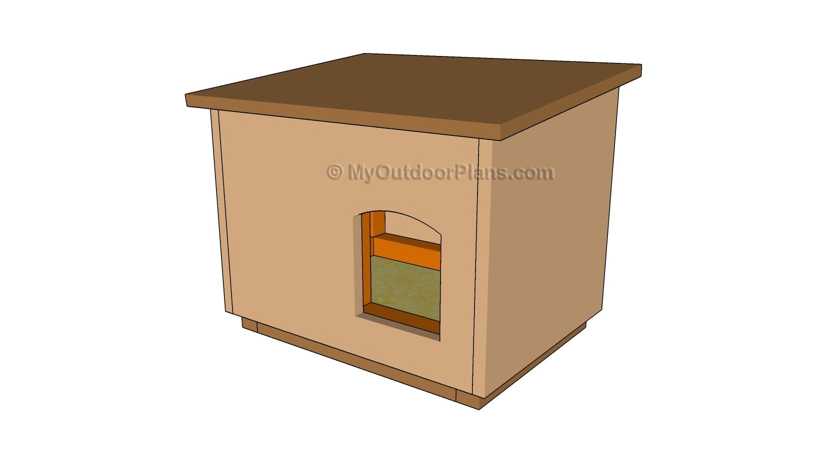 outdoor cat house plans