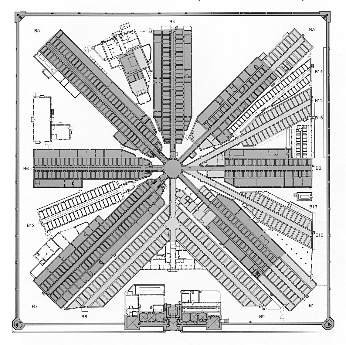 prison floorplans
