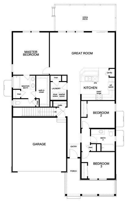 Patio Home House Plans Birch