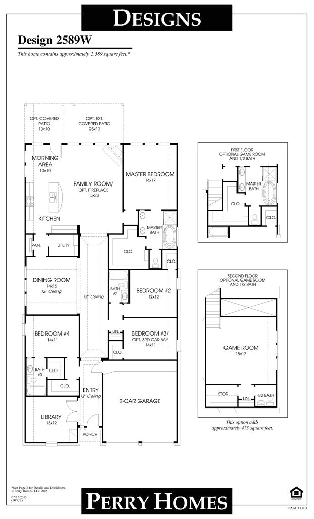 cross creek ranch model home design 2935 sq ft