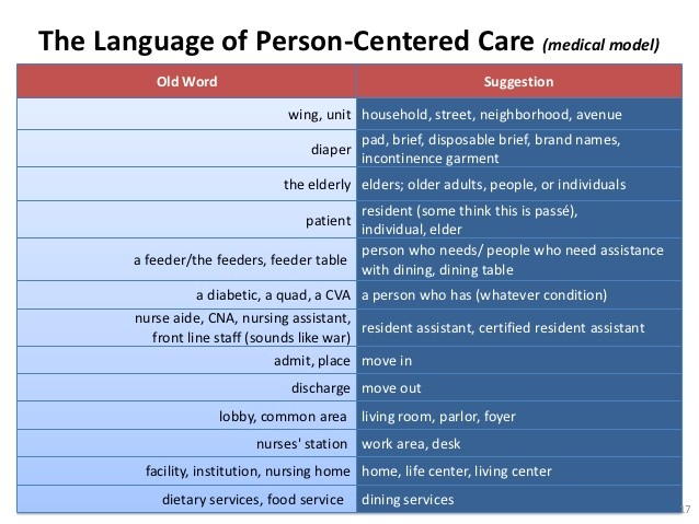 person centered careweb