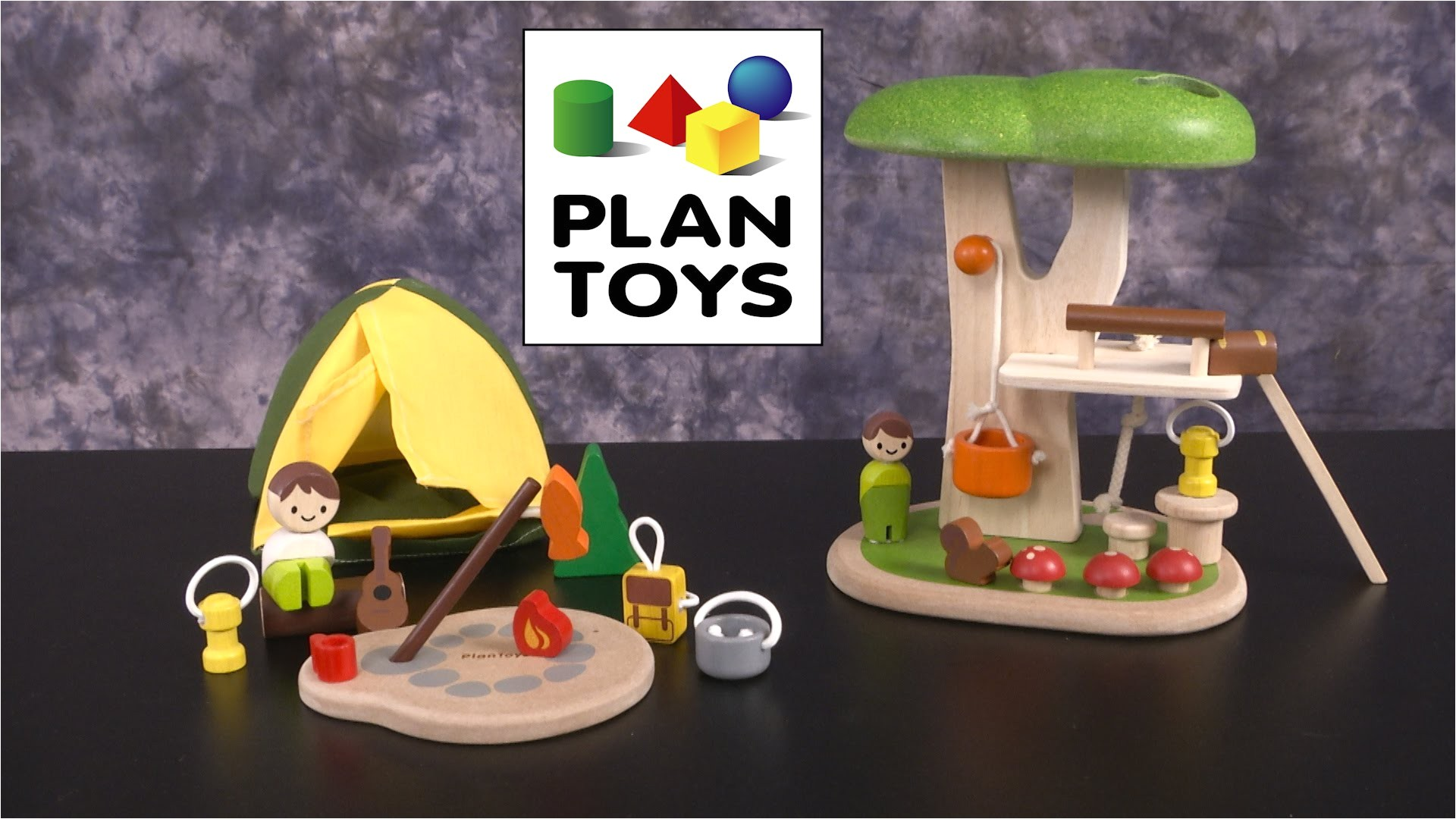 Plan toys Tree House Camping Set Tree House From Plan toys Youtube