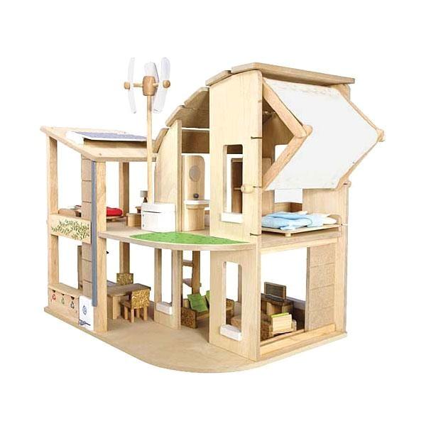 Plan toys Tree House Regalo sostenible Casa De Munecas Ecologica