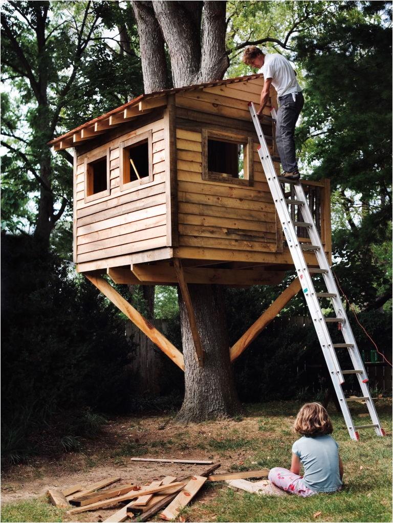 diy tree houses free plans