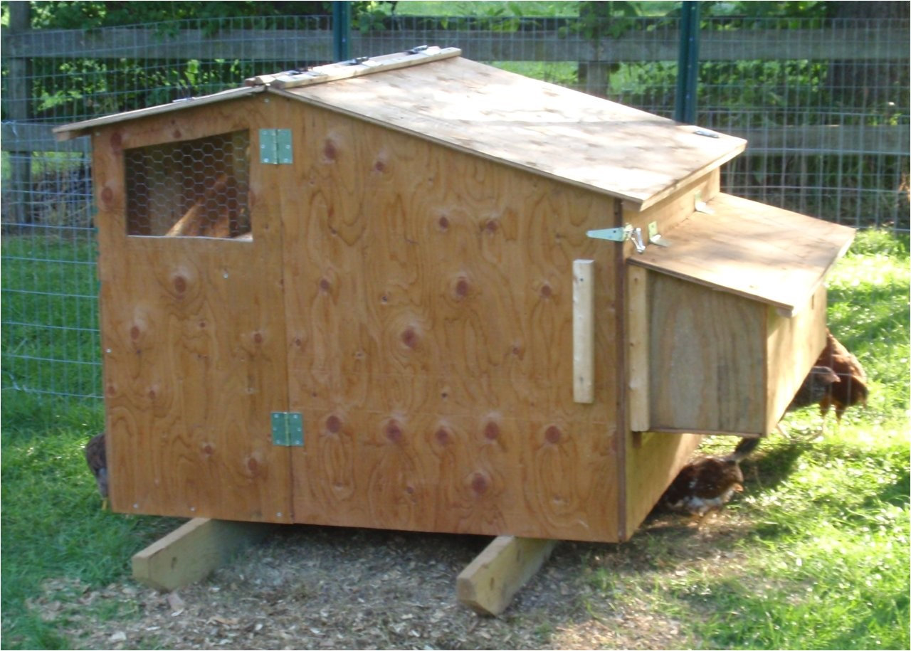 chicken coop plans for 6 8 hens