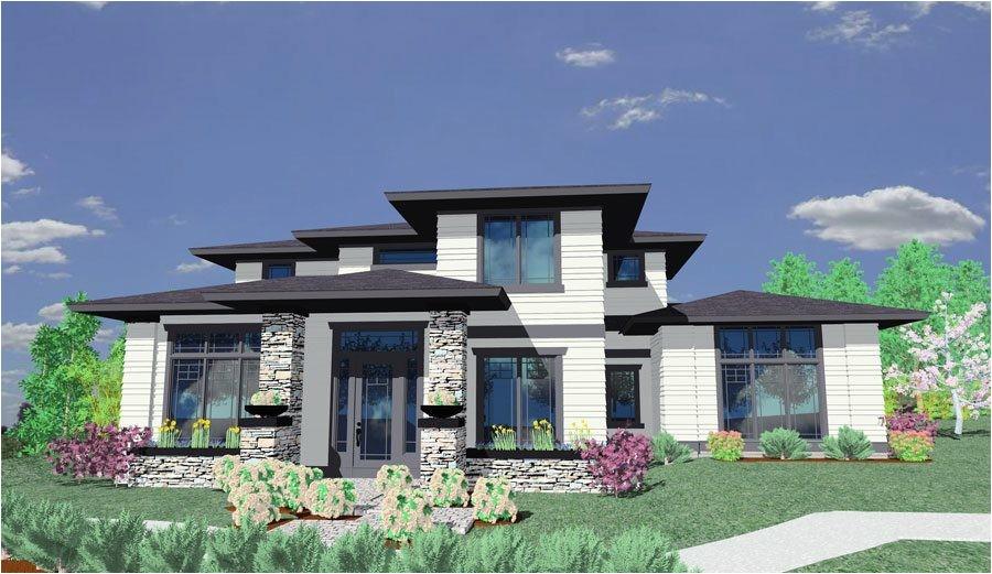 prairie style house plan 85014ms