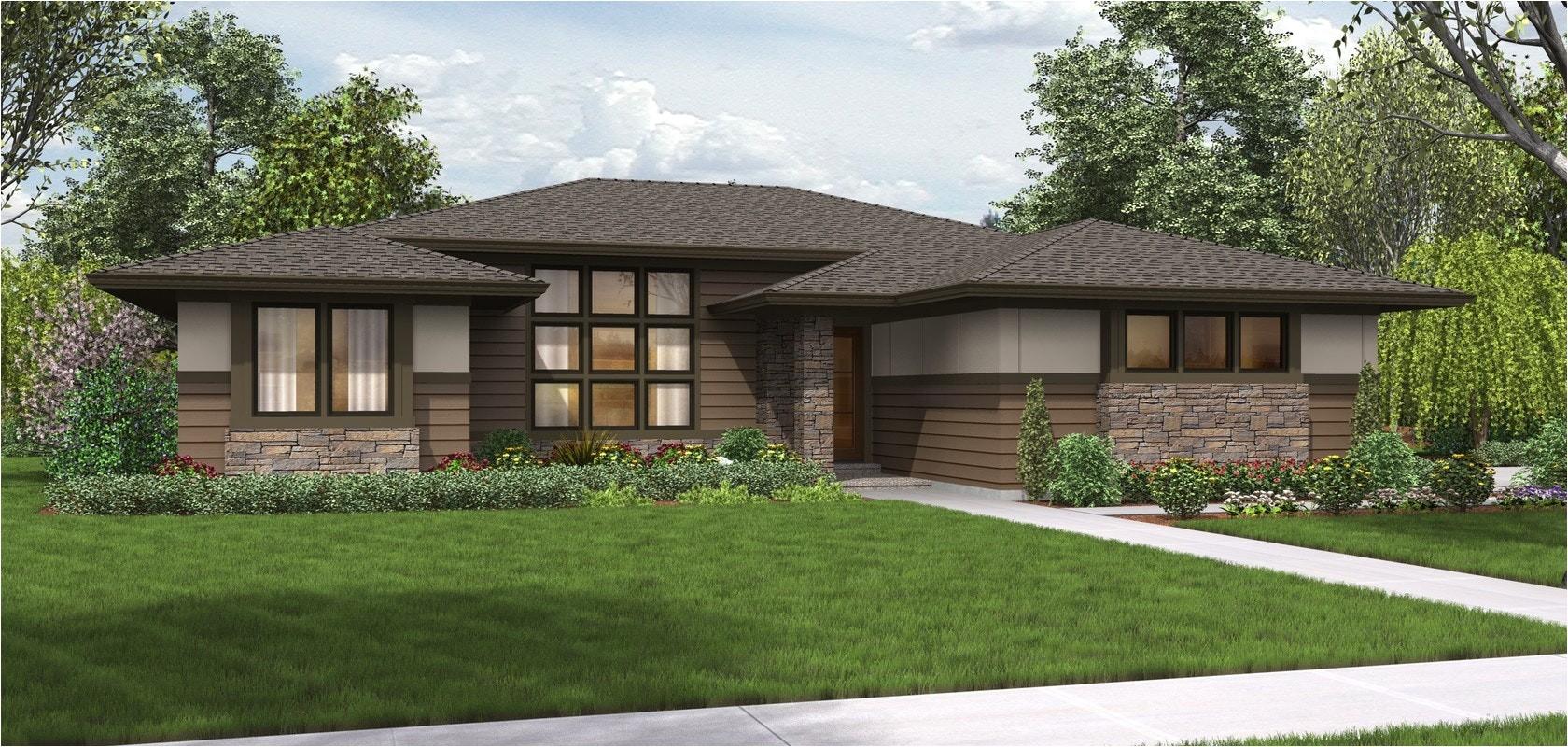 modern prairie home designs
