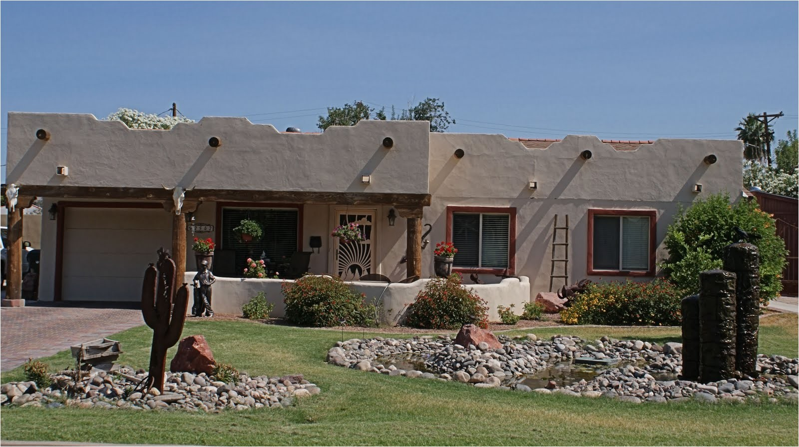 awesome pueblo style home pictures