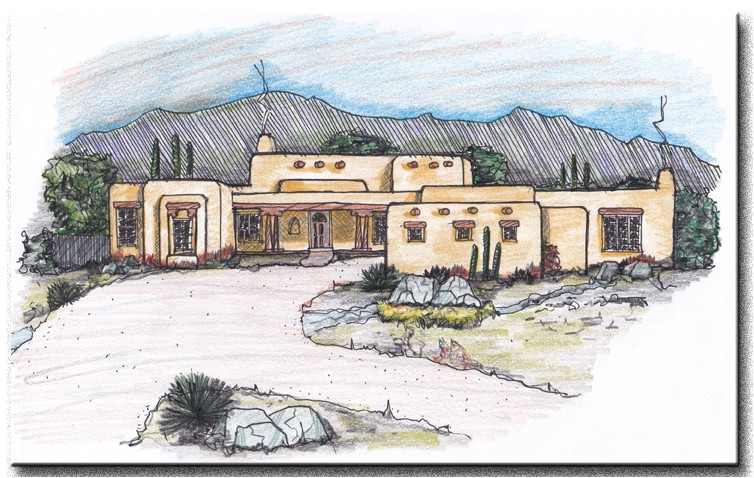 Pueblo Style Home Plans Important Elements for A Pueblo Style House Plan