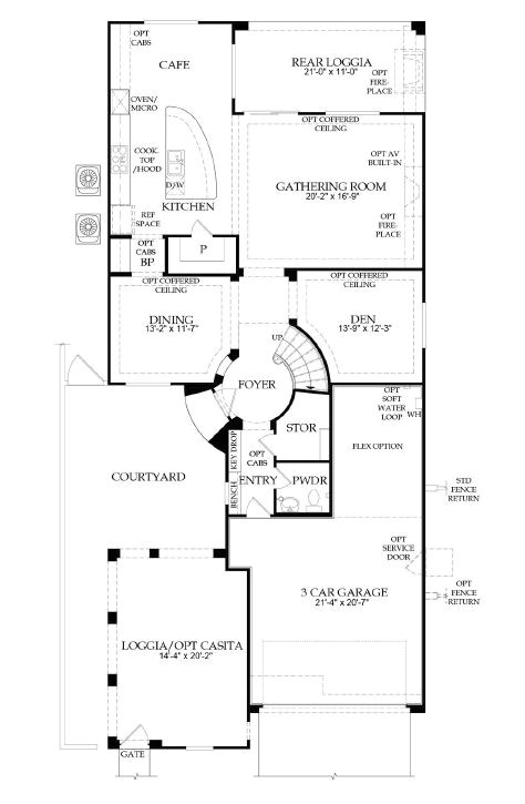 Pulte Home Plans Segovia by Pulte Homes Summerlin Las Vegas Nv