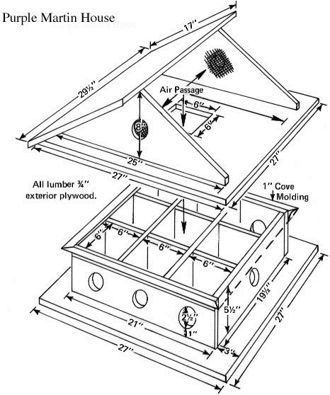 Purple Martin House Plans Free Download Woodwork Bird House Plans Book Pdf Plans