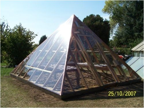 pyramid shaped greenhouse plans