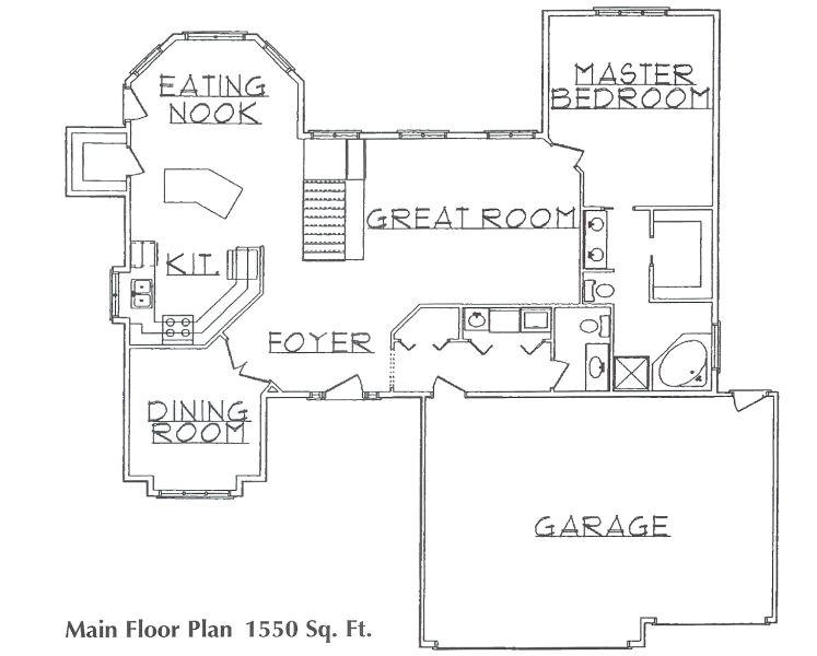 3 bedroom rambler floor plans mn