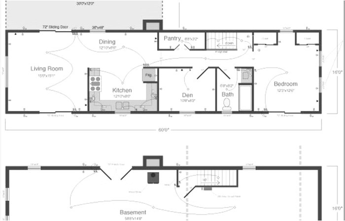 rambler house plans with basement mn