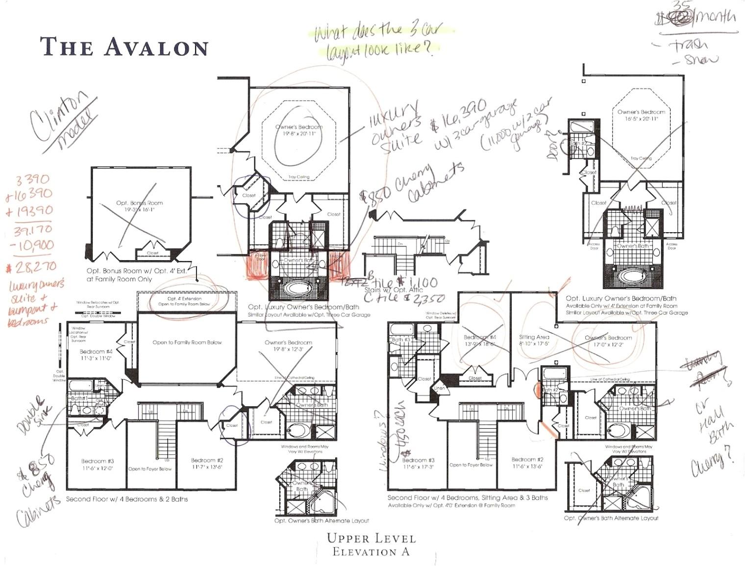 best of ryan home floor plans