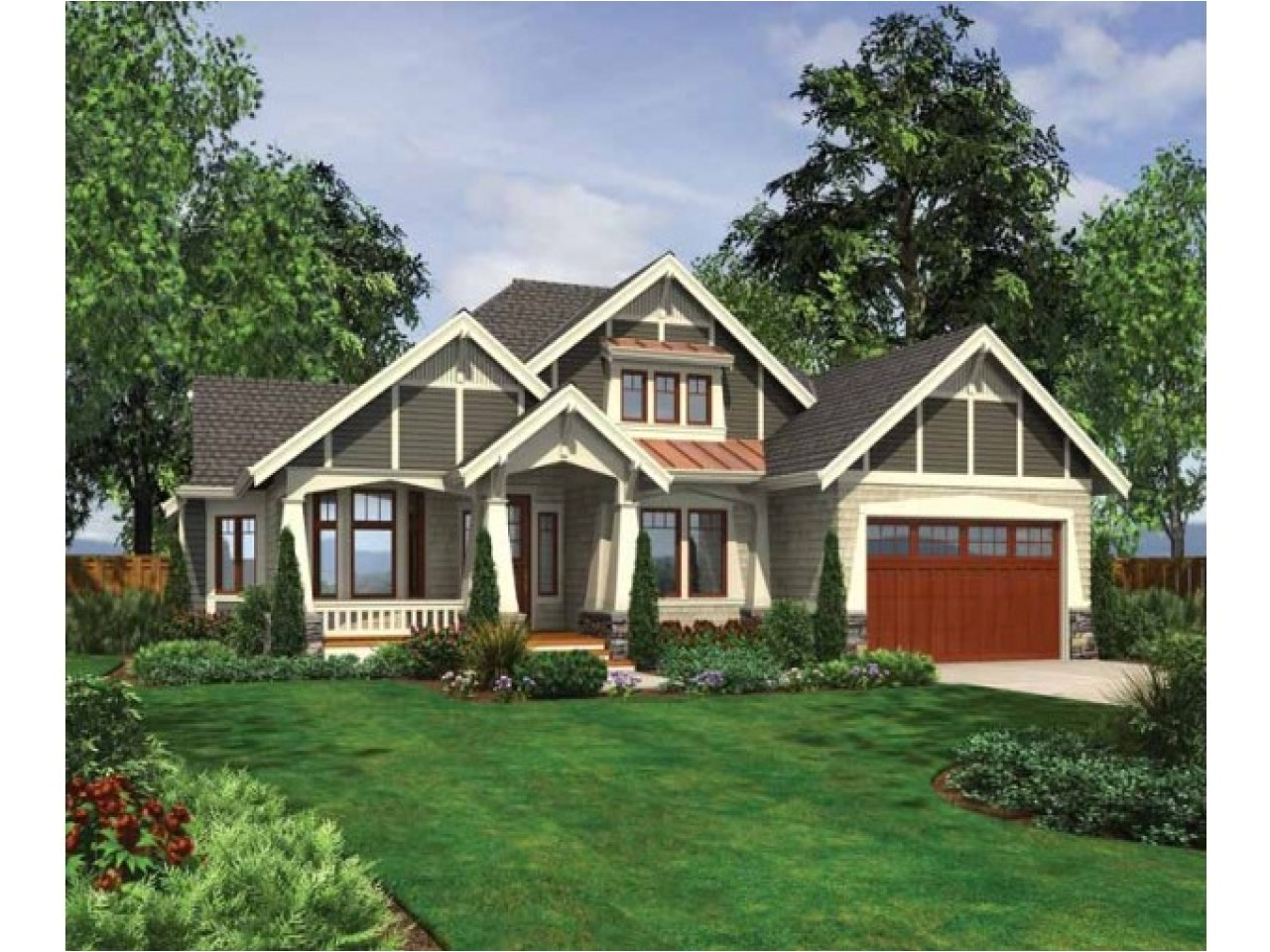 862896fb2b4ee811 exterior ranch craftsman home craftsman style ranch house plans
