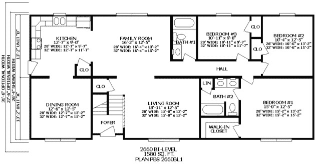 house plans 3 bedroom ranch