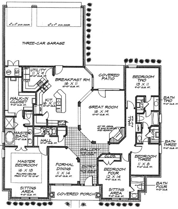Ranch House Plans with Jack and Jill Bathroom 7 Best Jack and Jill Layouts Images On Pinterest