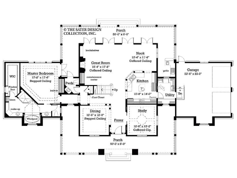 house plan jack jill bath square