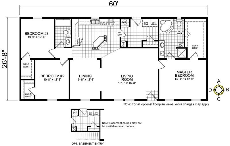 redman mobile home floor plans 61781 2