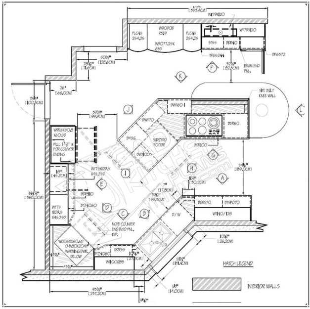 sample residential building autocad 2d plan