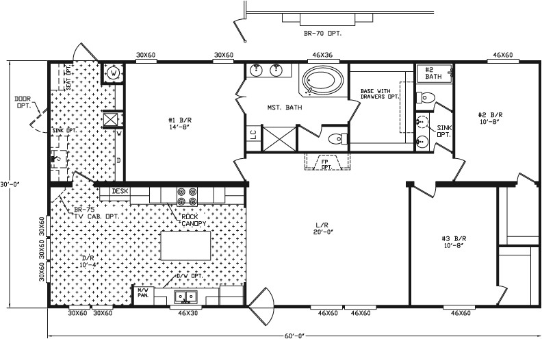 River Birch Mobile Home Floor Plans Regent Homes Floor Plans Bella Trae Cormorant Floor Plan