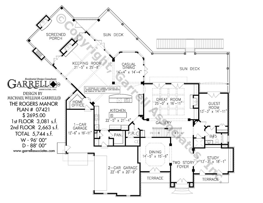 rogers manor house plan