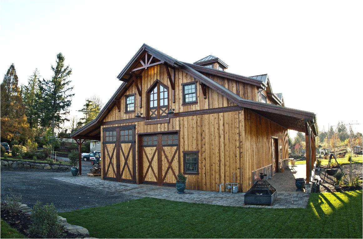 rustic barn building plans