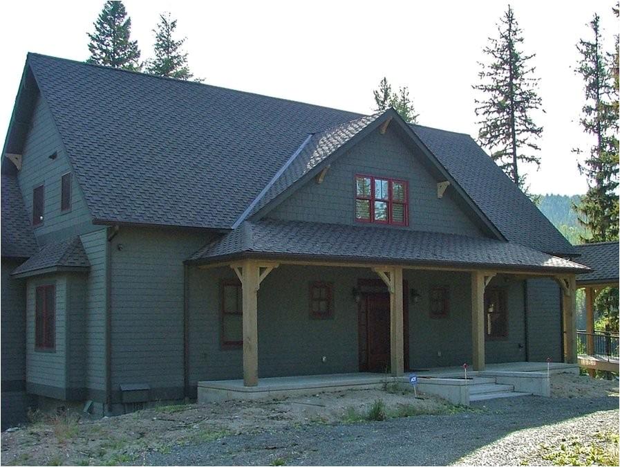 rustic cabin porch design