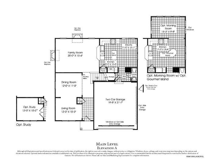 beautiful ryan home plans 14 ryan homes milan floor plan