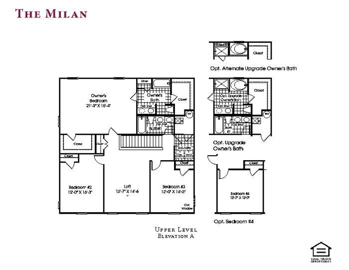 floorplan selections