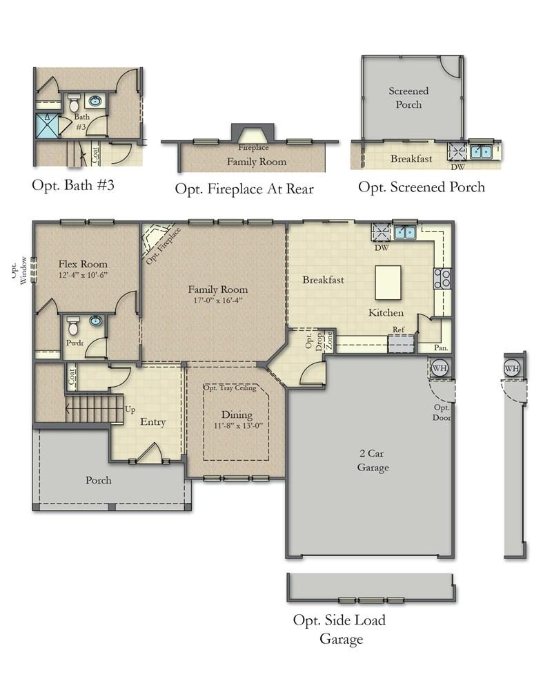 dan ryan builders poplar floor plan