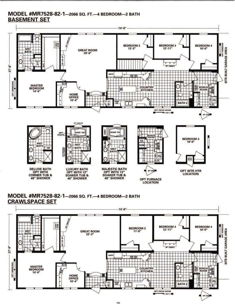 schult homes floor plans