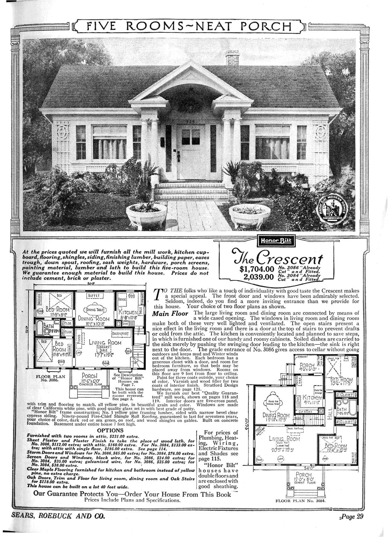 sears home plans