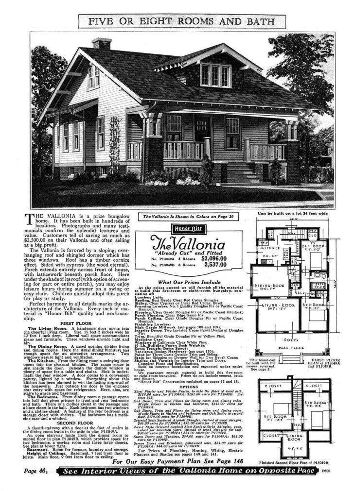 sears craftsman house plans
