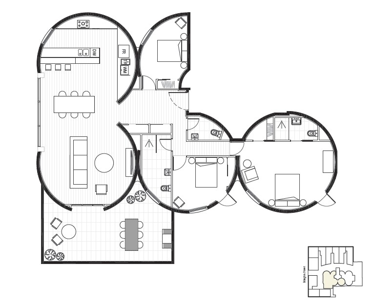 islington silos floorplans are in
