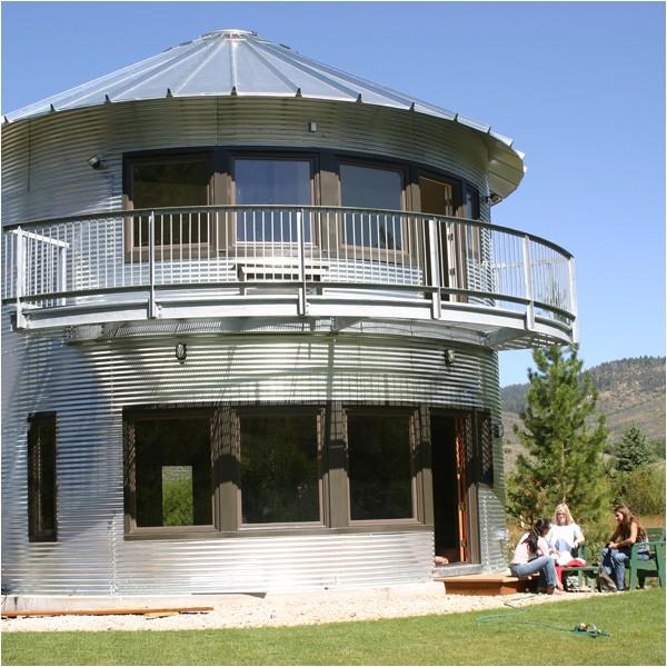 Silo Home Plans Building Contractor Silo House In Utah Grain Silos Rock
