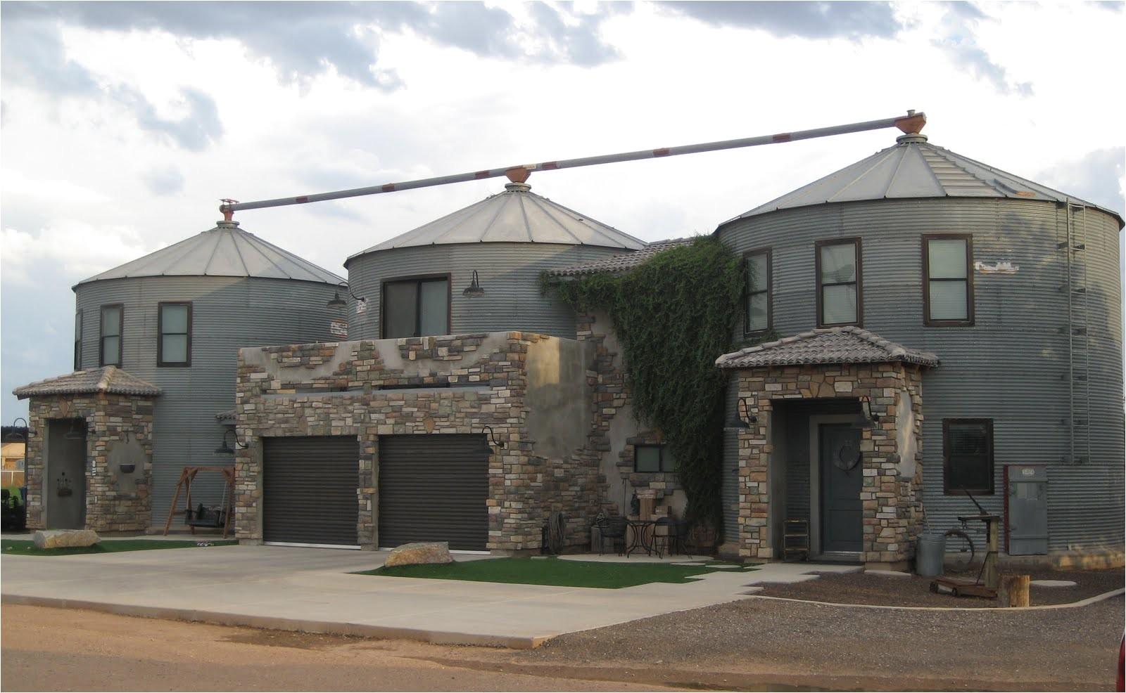 special ideas grain silo homes