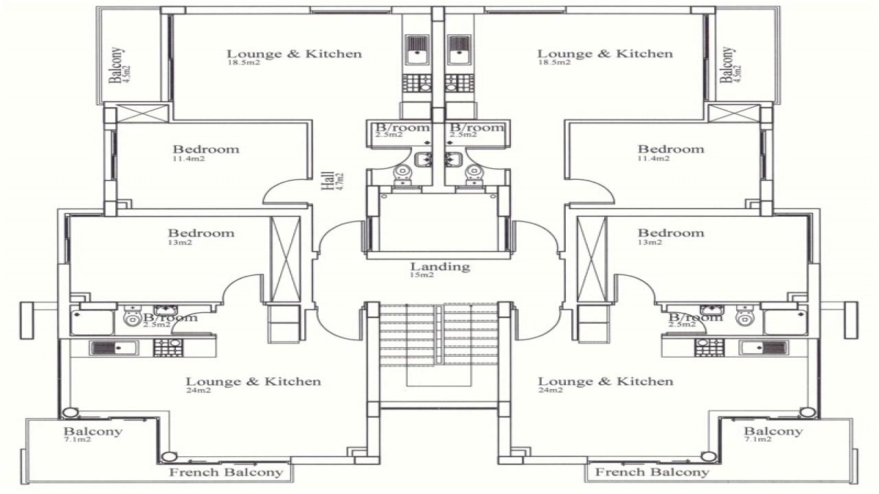18310dd4b7ca2f45 4 bedroom floor plan simple 4 bedroom house plans that are printable