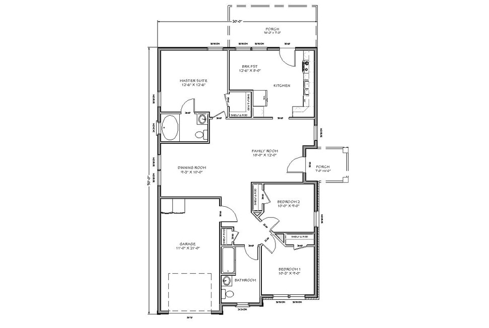 floor plans for tiny houses with simple design to make easy to build your own home