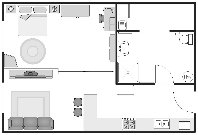interior design drawing standards