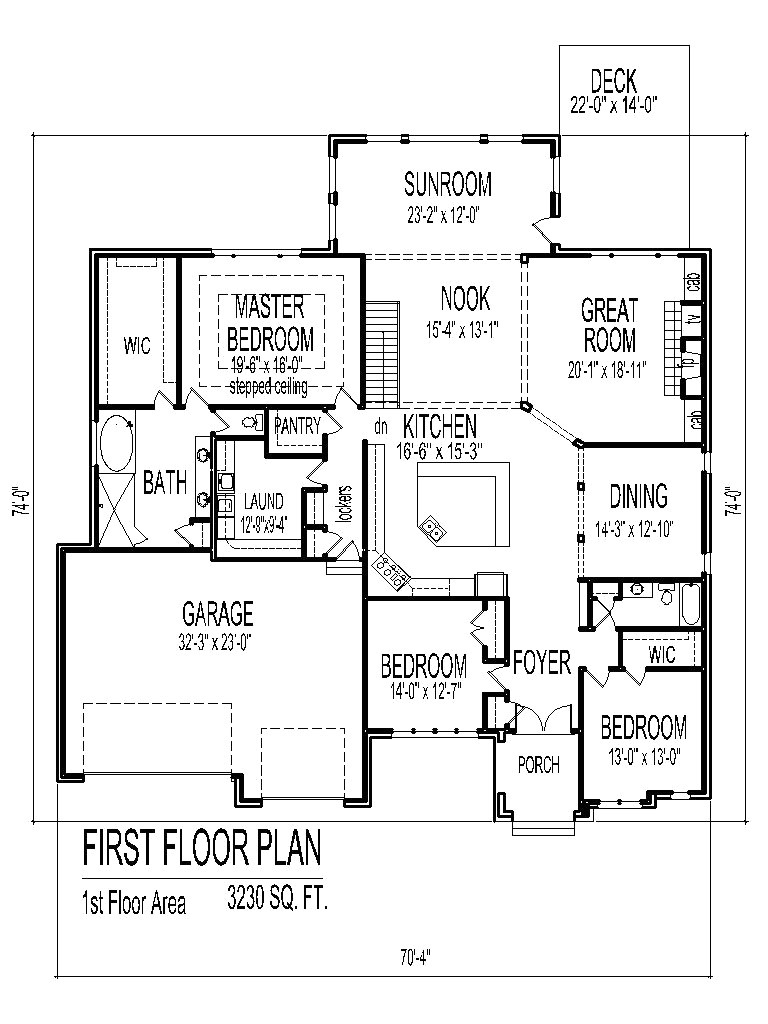 simple 3 bedroom house floor plans single story