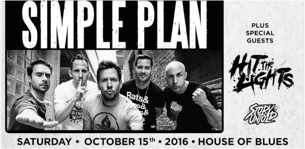Simple Plan House Of Blues Cleveland Simple Plan How Could This Happen to Me Mp3 Archives